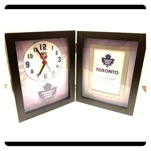 Other - Toronto Maple Leaf Clock & Photo Frame